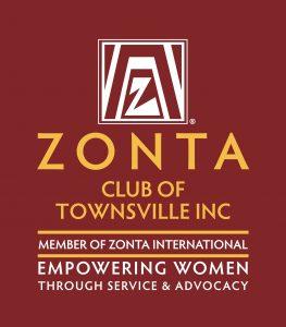 Zonta Club Logo Vertical Color Reverse TOWNSVILLE INC 263x300